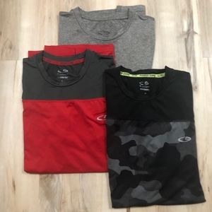 Set of Three Champion Men's Small Shirts